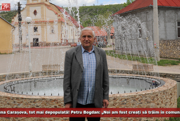 """Carașova, tot mai depopulată! Petru Bogdan: """"Noi am fost creați să trăim în comunitate!"""""""