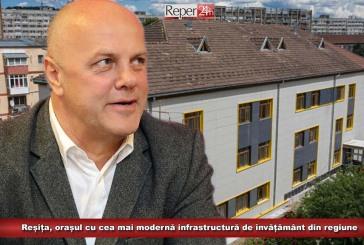 Reșița, orașul cu cea mai modernă infrastructură de învățământ din regiune