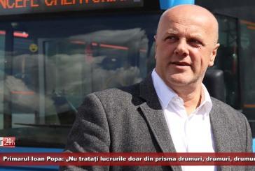 """Ioan Popa: """"Nu tratați lucrurile doar din prisma drumuri, drumuri, drumuri. Circulația cu mașinile trebuie restricționată"""""""
