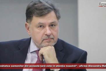 """""""Sănătatea oamenilor din această țară este în atenția noastră"""" – afirmă Alexandru Rafila"""