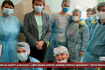 """""""Adoptă un salon"""" a devenit…""""Mai multe suflete adoptă sufletul spitalului"""" – Alina Stancovici"""