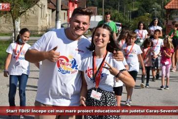 Start TDIS! Începe cel mai mare proiect educațional din județul Caraș-Severin!