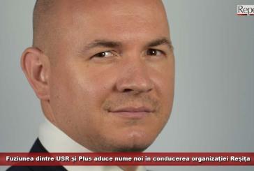 Fuziunea dintre USR și Plus aduce nume noi în conducerea organizației Reșița