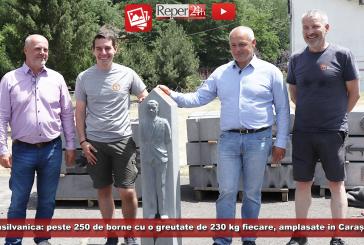 Via Transilvanica: peste 250 de borne cu o greutate de 230 kg fiecare, amplasate în Caraș-Severin!