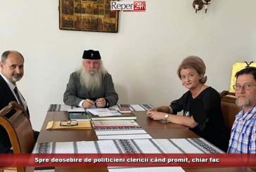 Spre deosebire de politicieni clericii când promit, chiar fac!
