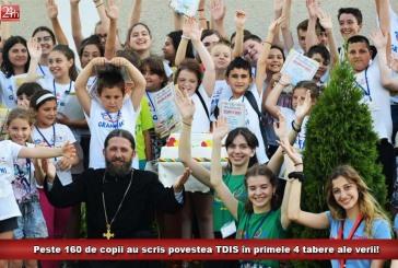 Peste 160 de copii au scris povestea TDIS în primele 4 tabere ale verii!