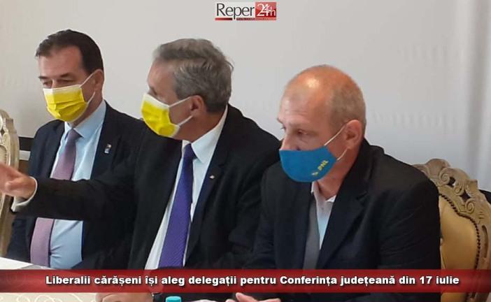 Liberalii cărășeni își aleg delegații pentru Conferința județeană din 17 iulie