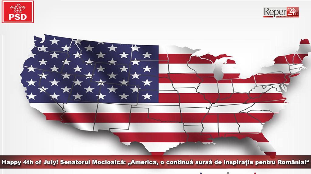 Senator Mocioalca Amercia 4th of July