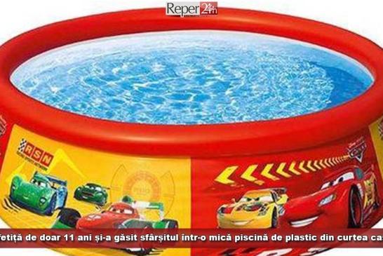 O fetiță de doar 11 ani și-a găsit sfârșitul într-o mică piscină de plastic, din curtea casei