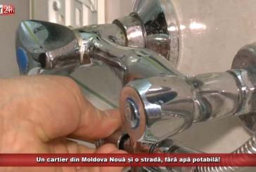 Un cartier din Moldova Nouă și o stradă, fără apă potabilă!