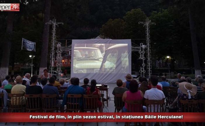 Festival de film, în plin sezon estival, în stațiunea Băile Herculane!