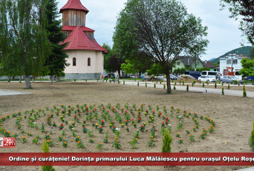 Ordine și curățenie! Dorința primarului Luca Mălăiescu pentru orașul Oțelu Roșu