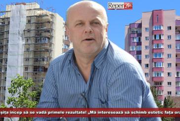 """La Reșița încep să se vadă primele rezultate! """"Mă interesează să schimb estetic fața orașului"""""""